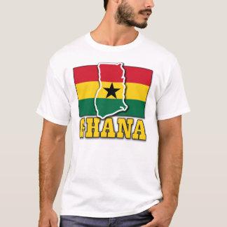 Ghana-Flaggen-Land T-Shirt