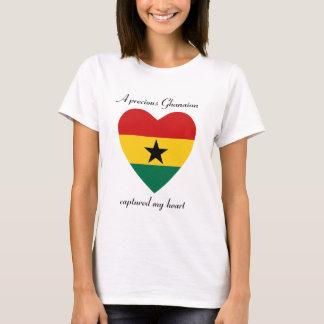Ghana-Flaggen-Schatz-T - Shirt
