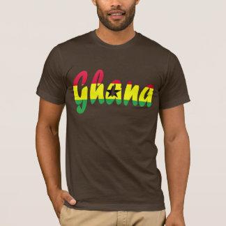 Ghana-Flaggen-T - Shirt
