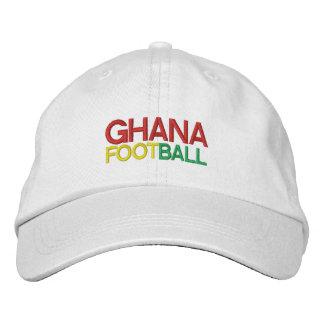 GHANA-FUSSBALL BESTICKTE MÜTZE