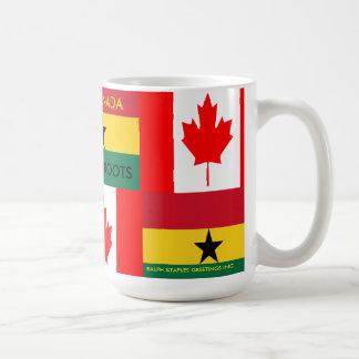 GHANAIAN-CANADIAN KAFFEETASSE