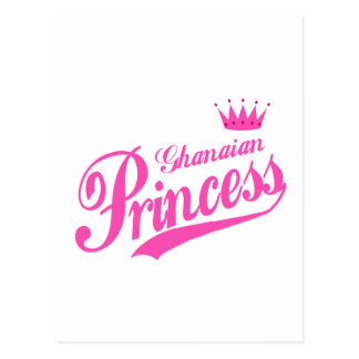Ghanaische Prinzessin Postkarte