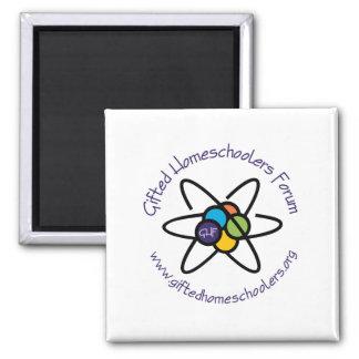 GHF Logo-Magnet Quadratischer Magnet