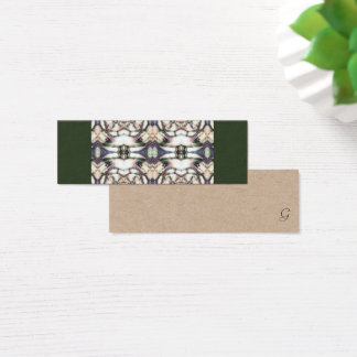 GhuluMuck Entwurf Mini Visitenkarte
