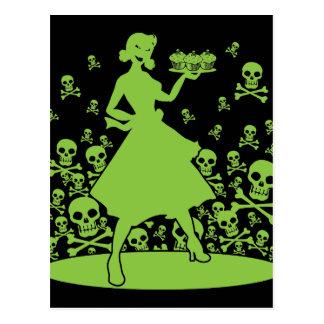Gift-Hausfrau Postkarte
