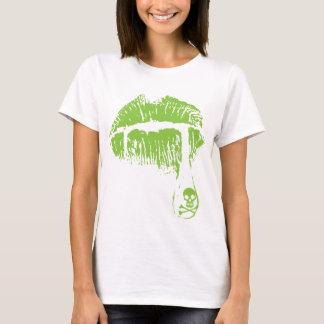 Gift-Lippen T-Shirt
