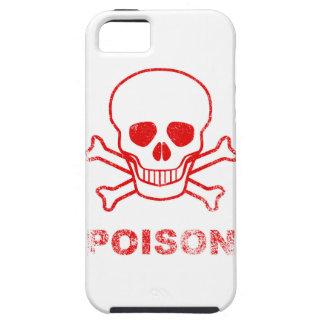 Gift-rote Tinten-Briefmarke iPhone 5 Schutzhüllen