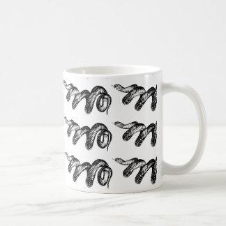 giftige Schlangen Kaffeetasse