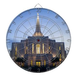 GIlbert Arizona LDS Tempel Dart-scheibe