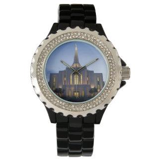 Gilbert Arizona LDS Tempel-diamante de Armbanduhr