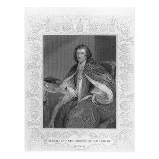 Gilbert Burnet, Bischof von Salisbury Postkarte