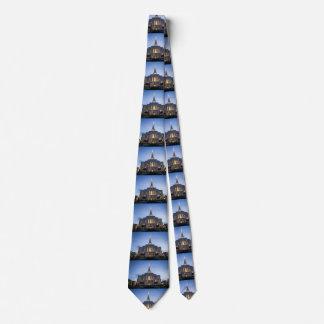 Gilbert Tempel am Sonnenuntergang Krawatte