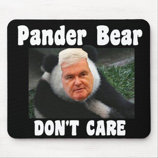 Gingrich Begünstigen-Bär INTERESSIEREN sich NICHT  Mauspads