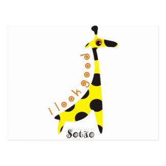 girafa postkarte