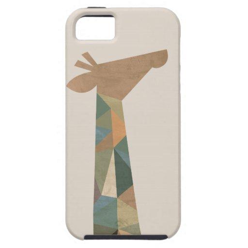 Girafe abstraite étui iPhone 5