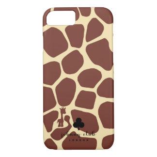 Giraffe (Burgunder) iPhone 8/7 Hülle