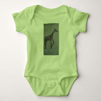 Giraffe entwarf Onsie Baby Strampler