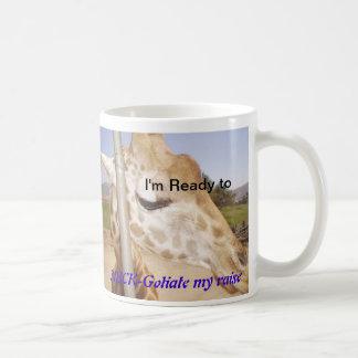 Giraffe Kaffeetasse