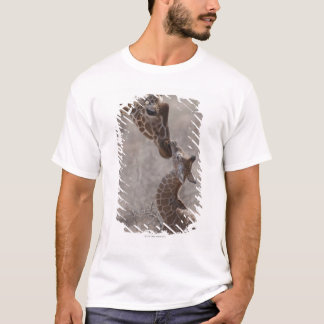 Giraffe, Kenia, Afrika T-Shirt