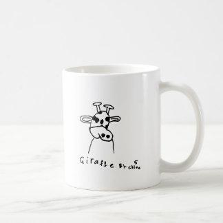 Giraffe scherzt Kunst-Geschenk-Ideen Kaffeetasse