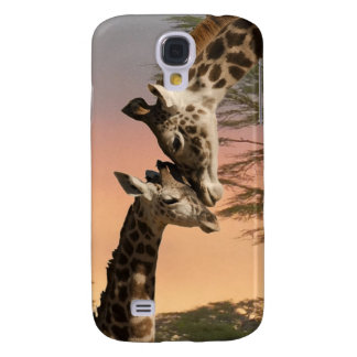 Giraffen, die sich grüßen galaxy s4 hülle