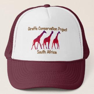 Giraffen-Erhaltungs-Projekt-Safari-Kappe Truckerkappe