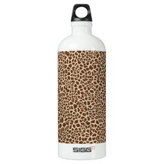 Giraffen-Haut-Muster-Entwurf Aluminiumwasserflasche