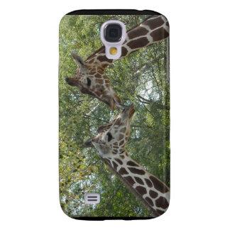 Giraffen-Liebe Galaxy S4 Hülle