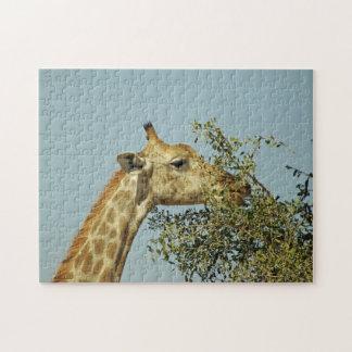 Giraffen-Puzzlespiel