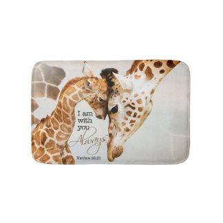 Giraffenbadmatte Badematte