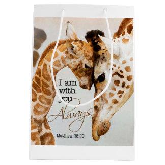 Giraffengeschenktasche Mittlere Geschenktüte