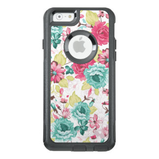 Girly Blumenmuster OtterBox iPhone 6/6s Hülle