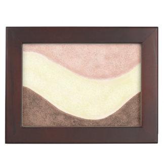 Girly Eiscreme-Streifen Erinnerungsdose