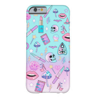 Girly Pastellhexe Goth Muster Barely There iPhone 6 Hülle