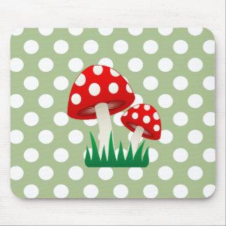 Girly Pilz-Tupfen des entzückenden netten Spaßes Mousepads