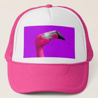 Girly Pink-Flamingo-Fernlastfahrer-Hut Truckerkappe