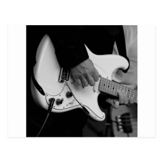 Gitarre Postkarte
