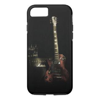 Gitarre und Ampere iPhone starker Fall iPhone 8/7 Hülle
