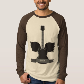 Gitarre Wings T - Shirt
