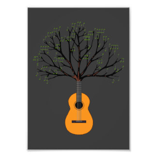 Gitarren-Baum Fotodrucke