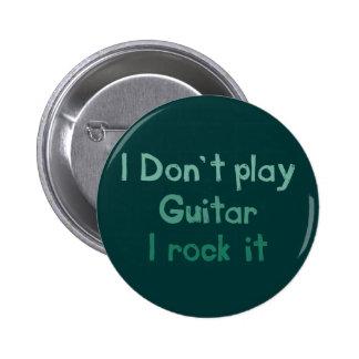 Gitarren-Felsen es Knopf Runder Button 5,7 Cm