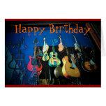 Gitarren-Geburtstags-Karte