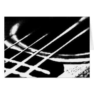 Gitarren-Gruß-Karte Karte