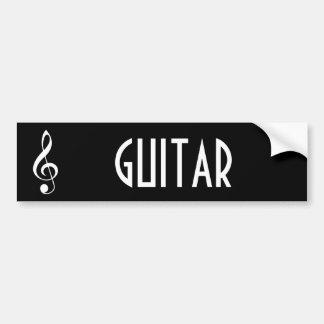 Gitarren-Musik-Autoaufkleber-Geschenk Autoaufkleber