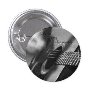 Gitarren-nahes hohes runder button 2,5 cm