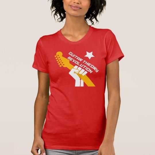 Gitarren-Theorie-Revolution - feines Jersey T-Shirt