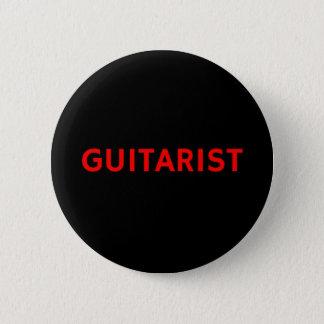 Gitarrist - Band/Musik-Knopf-Button-Abzeichen Runder Button 5,1 Cm
