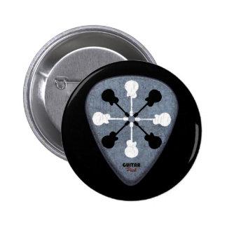 Gitarristideen Runder Button 5,7 Cm