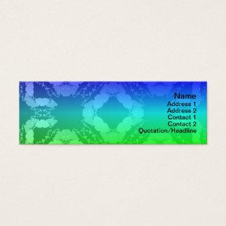Gitter der Quallen-WGB Mini Visitenkarte