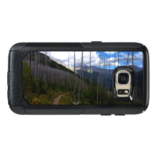 Glacier Nationalpark Highline HinterBurnout OtterBox Samsung Galaxy S7 Hülle